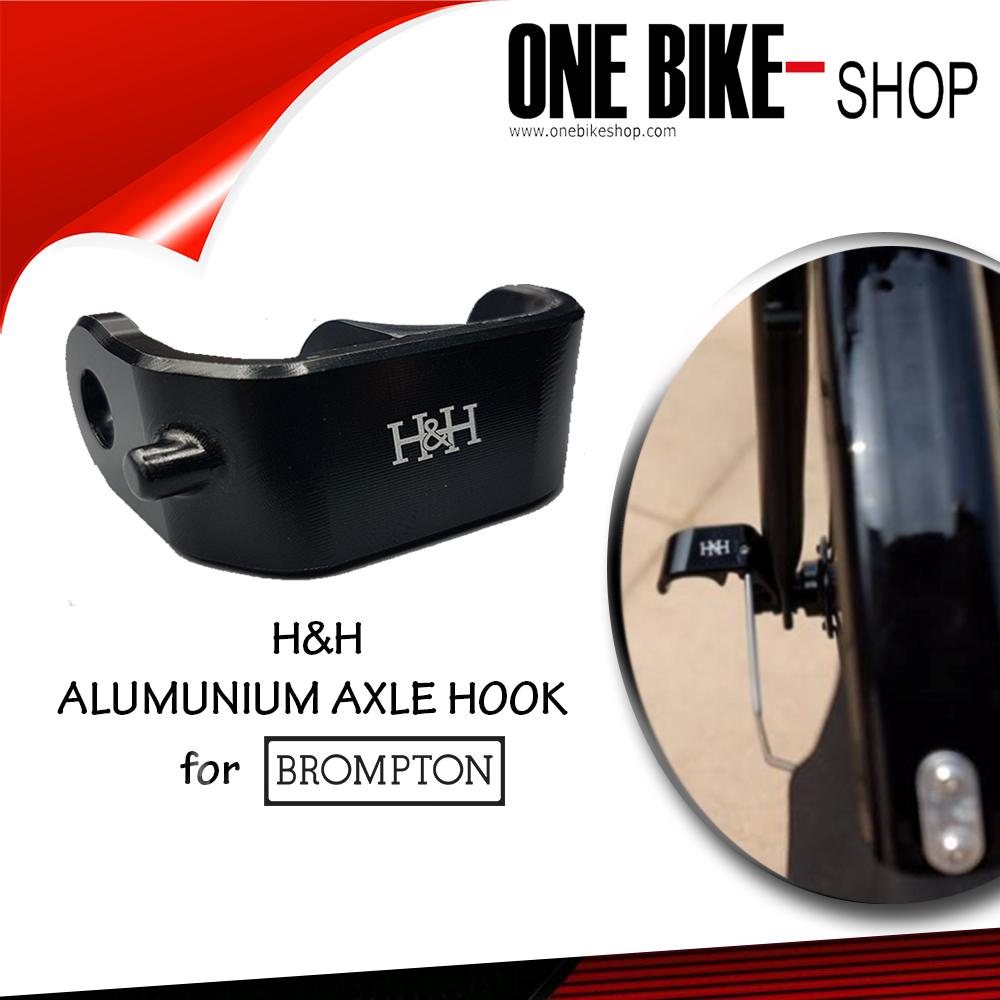 H&H Alumunium Axle Hook for Brompton
