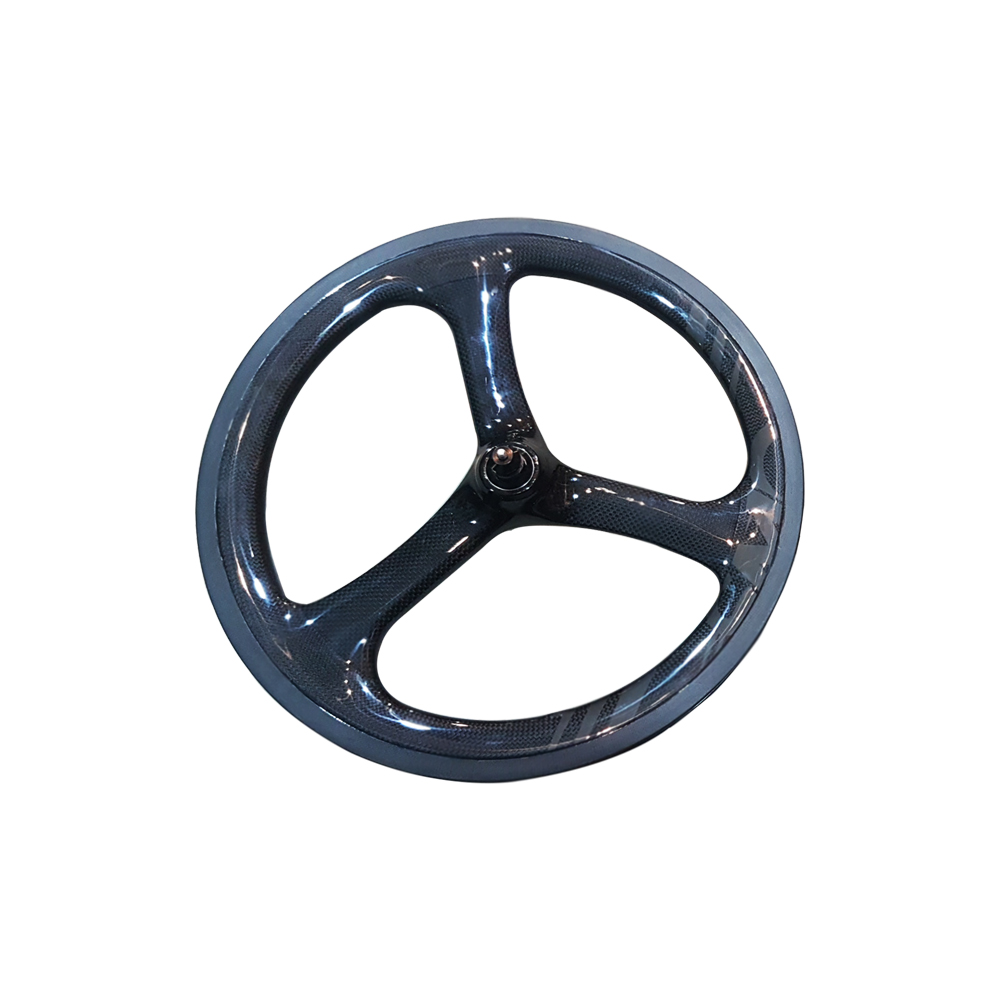 SMC Front Wheel 3 Spokes Ceramic Bearing Carbon
